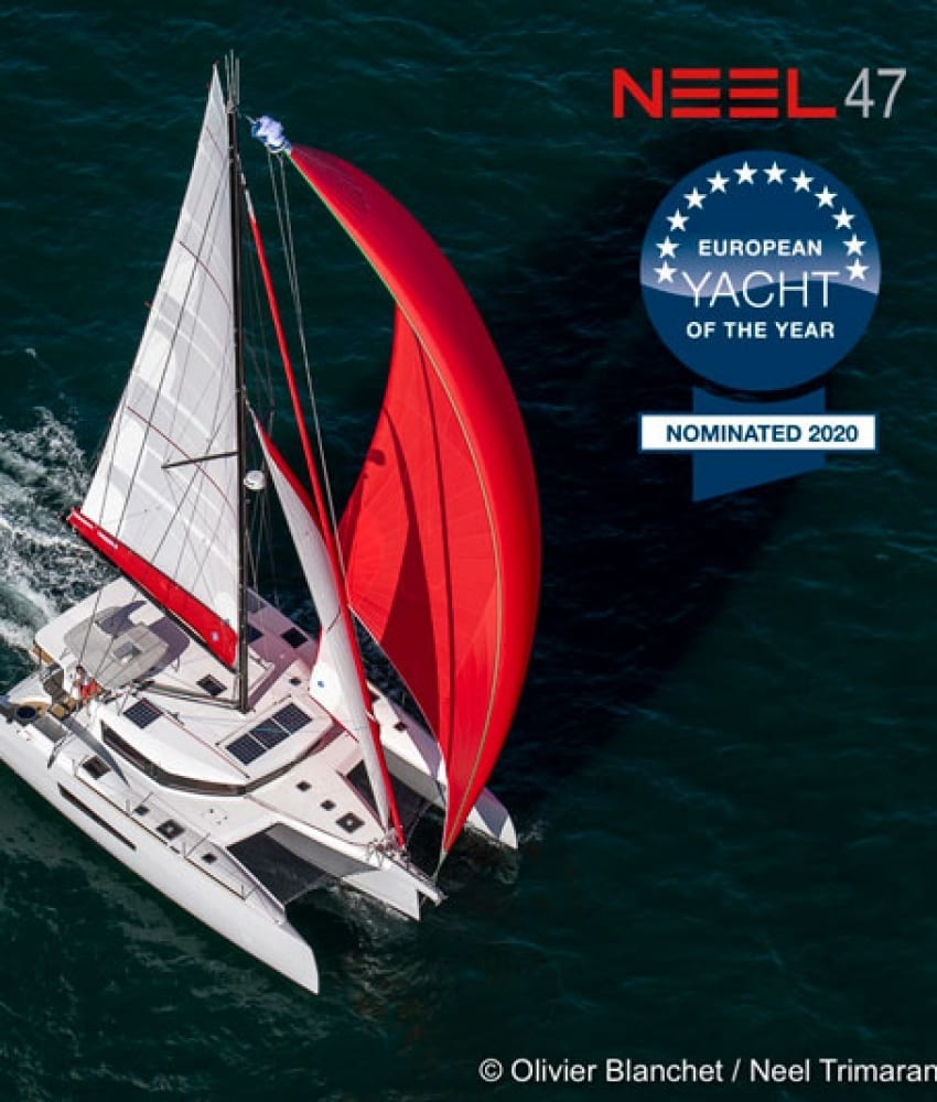 The NEEL 47 nominated for European Yacht of the Year 2020