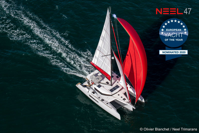 The NEEL 47 nominated for European Yacht of the Year 2020 1
