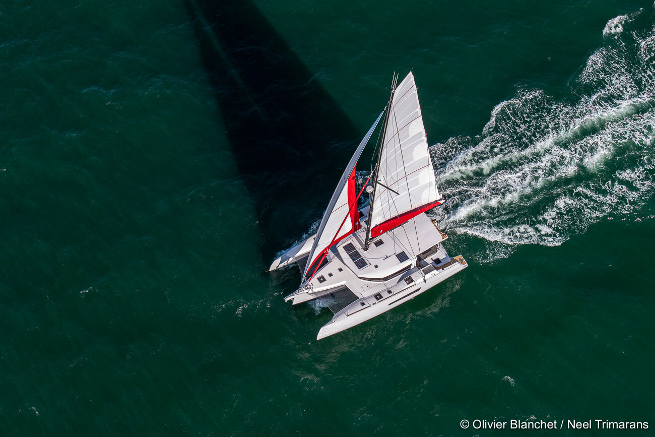 Boat of the year 2020 award :  NEEL 47 is in the race 1