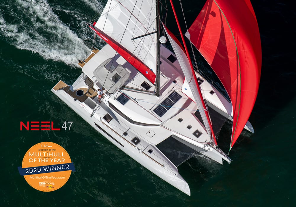 NEEL 47 elected Multihull of the year 2020