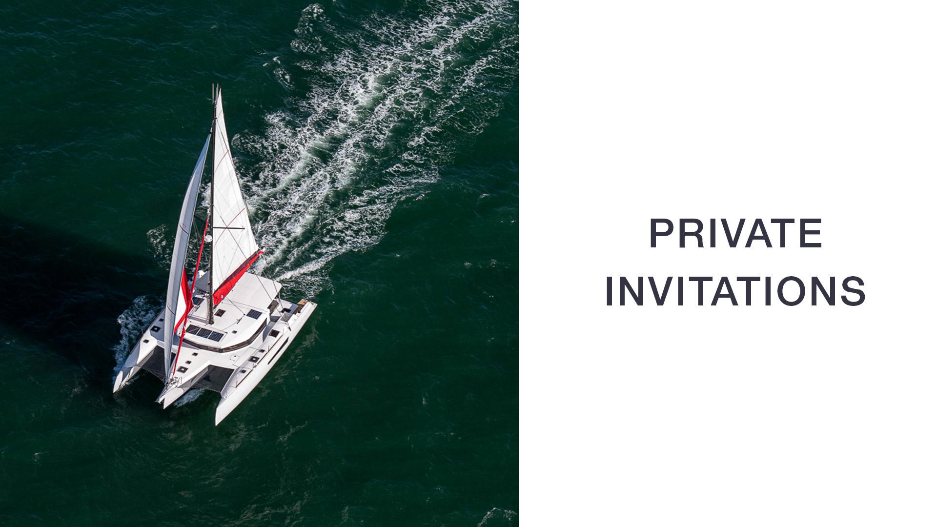 NEEL-TRIMARANS PRIVATE INVITATION