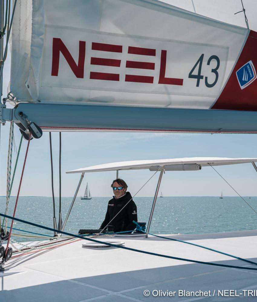 Yannick Bestaven, vainqueur du Vendée Globe 2020-2021, parrain du NEEL 43