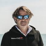 Yannick Bestaven, winner of the 2020-2021 Vendée Globe, godfather of the NEEL 43
